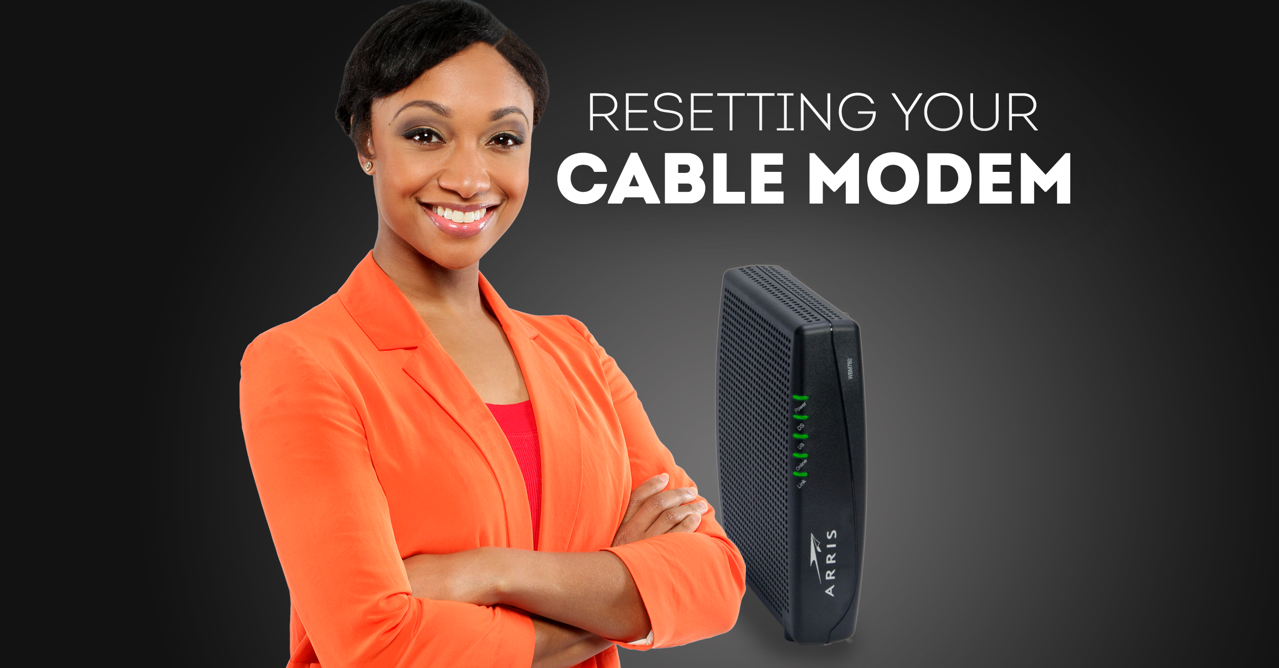 Resetting your cable modem - REV